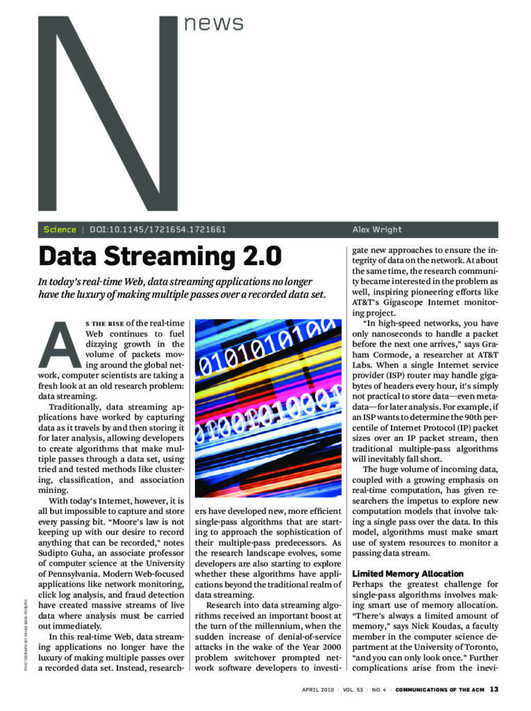 Data Streaming 2.0